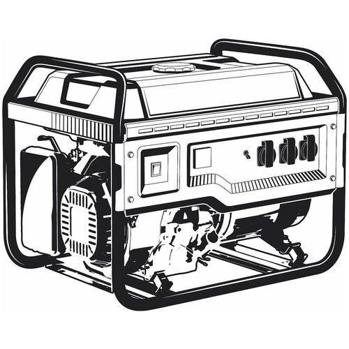 Бензиновый генератор ЗУБР 8000 Вт СБ-8000