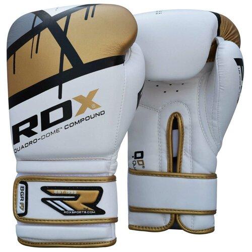 Перчатки боксерские RDX BOXING GLOVE BGR-F7 GOLDEN золотой искусственная кожа цвет золотой размер 14oz