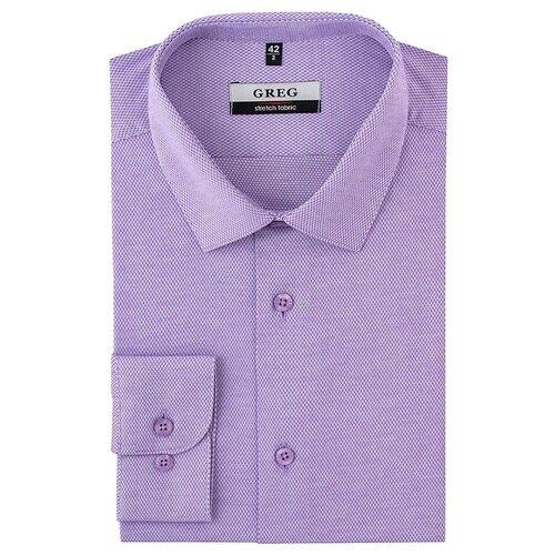 Рубашка GREG сиреневый