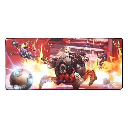 Коврик Blizzard Entertainment Overwatch Wrecking Ball красный/оранжевый