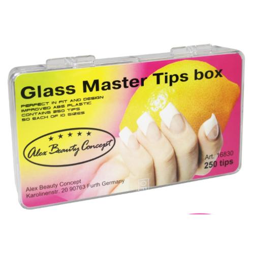 Купить Типсы Alex Beauty Concept GLAS MASTER TIPS BOX, (250 штук)