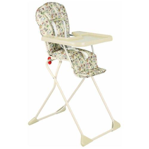 стул для кормления globex космик new белый Стул для кормления Globex Компакт NEW, бежевый
