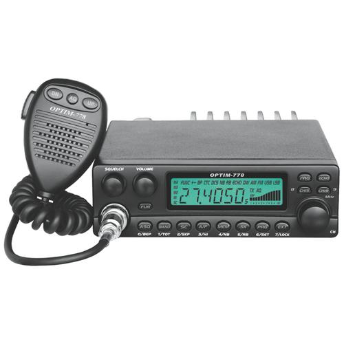 Радиостанция автомобильная СВ Optim-778