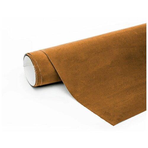 Алькантара пленка автомобильная - 10*1,46 м, цвет: светло-коричневый