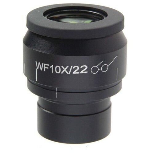 Фото - Микромед 10х/22 с сеткой для Микромед 3 LED M окуляр для телескопа микромед 10х 22 со шкалой для микромед 3 люм led мет2 мет3