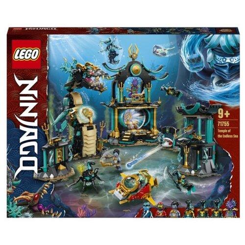 Конструктор LEGO NINJAGO 71755 Храм Бескрайнего моря lego lego ninjago императорский храм безумия