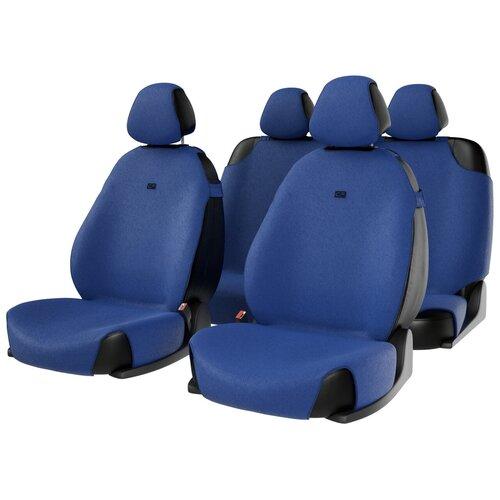 Комплект накидок на автомобильные сиденья CarFashion FORUM синий