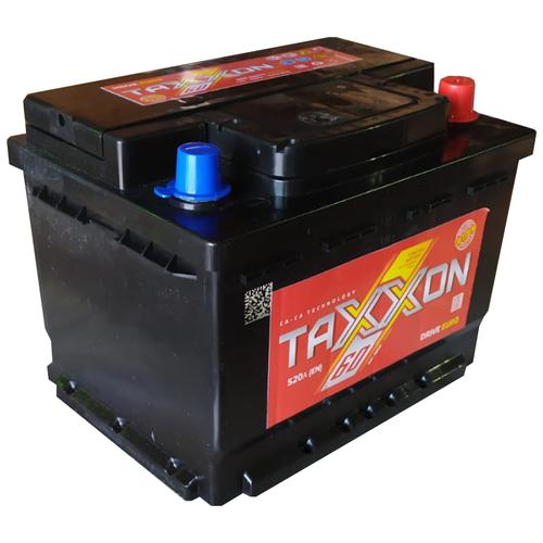 Аккумулятор автомобильный TAXXON DRIVE EURO 60R 520 А обр. пол. 60 Ач низкий (712060)