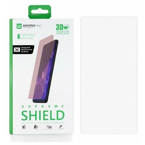 Защитная пленка для Samsung Galaxy Note 10 Plus / Note 10+ Amazingthing Nano Soft Smart 3D / противоударная пленка / гидрогелевая пленка / пленка от царапин / защита дисплея / защитная пленка для экрана / защитная пленка для дисплея / защитное покрытие для экрана / защита телефона / 3Д пленка / закругленная пленка / полное покрытие / пленка 3д / Самсунг / пленка для самсунг / галакси / гэлакси / ноте 10 плюс / ноут 10 плюс / нот 10 плюс