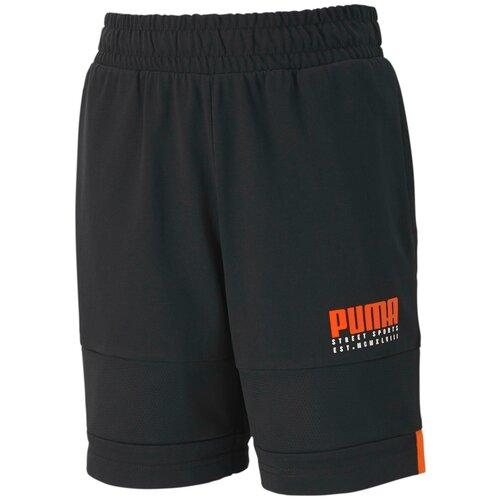 Фото - Шорты Puma Alpha Jersey Shorts B Черный 116 58127701 шорты для мальчиков puma alpha размер 128 134