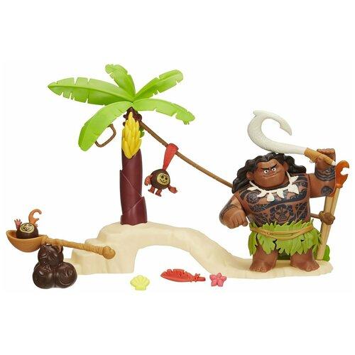 Кукла Disney Моана Игровой набор с Мауи B8304/B8302