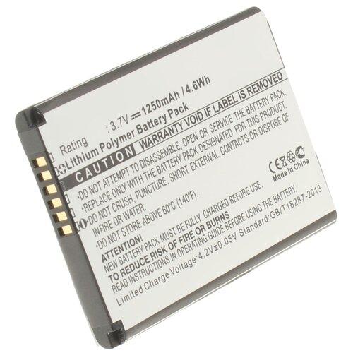 Аккумуляторная батарея iBatt 1250mAh для 35H00077-00M