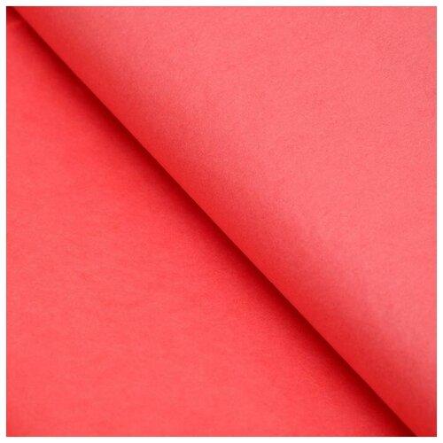 Бумага упаковочная тишью, красный, 50 см х 66 см, набор 10 шт. 7059628