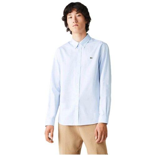 Рубашка LACOSTE размер 4/M голубой