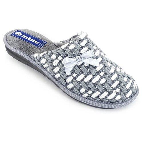 Тапочки Inblu серый 38