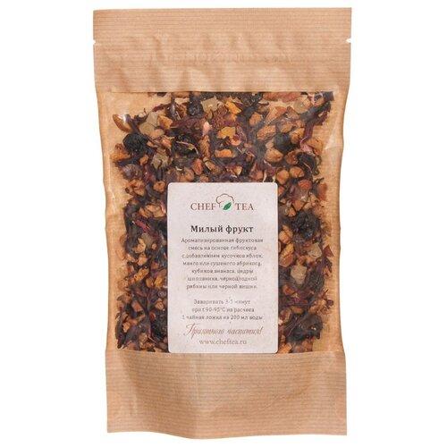Чайный напиток фруктовый с гибискусом Chef Tea Милый фрукт, 100 г чайный напиток красный tea kir royal 180 г