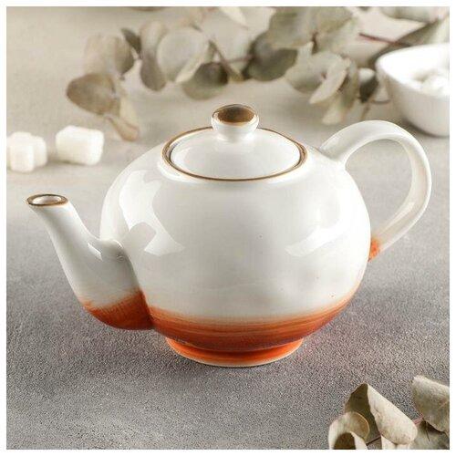 Чайник заварочный Доляна Юпитер, 600 мл доляна чайник заварочный восточная ночь 600 мл зеленый