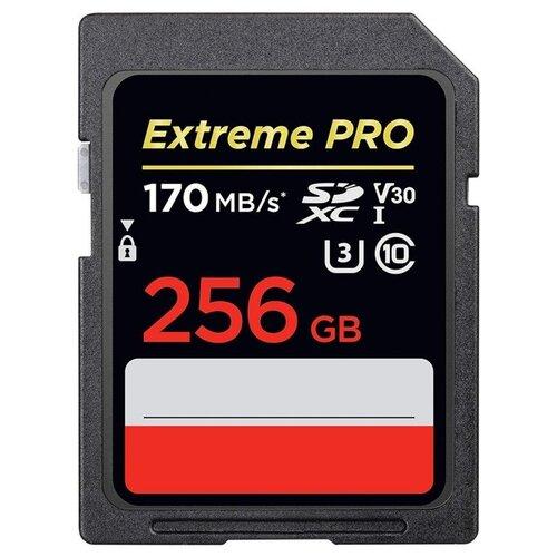 Фото - Карта памяти 256Gb - SanDisk Extreme Pro - Secure Digital XC Class 10 UHS-I U3 V30 SDSDXXY-256G-GN4IN (Оригинальная!) карта памяти 256gb sandisk extreme pro secure digital xc