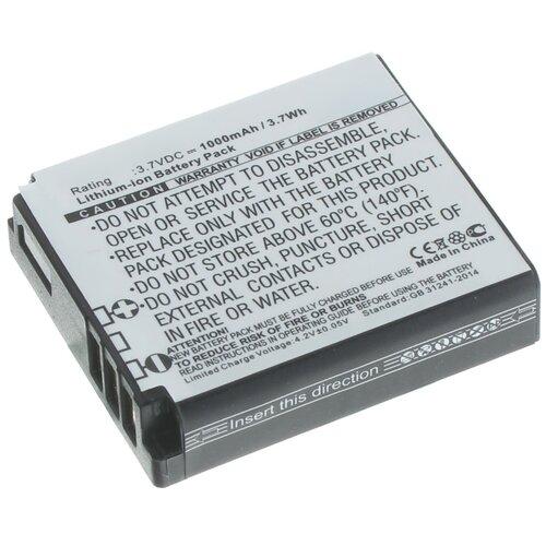 Аккумуляторная батарея iBatt 1000mAh для Kodak PIXPRO SP360, PIXPRO SP1, PlaySport Zx5, PIXPRO SP360 4K