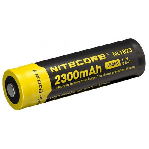 Фото - Аккумулятор Nitecore Rechargeable NL1823 18650 Li-Ion 2300mAh аккумулятор nitecore nl1665r