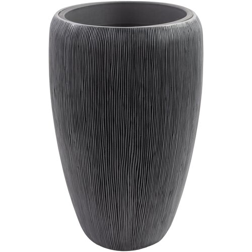 Кашпо Nobilis Marco полистоун Pm-bgrey Vase, D41хH68 см с тех.горшком