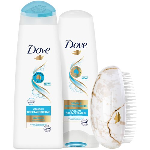 Набор Dove подарочный коллекция Объем и Восстановление недорого