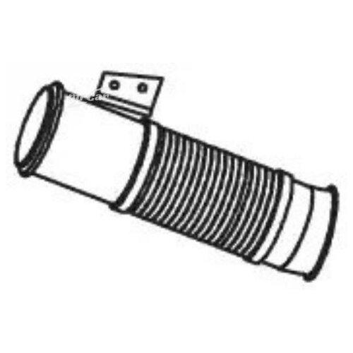DINEX 68039 Глушитель труба приемная