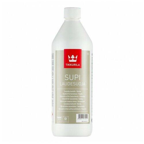 Защитный состав для дерева (Полоков) Tikkurila Supi Laudesuoja 1,0 литр, в бане, сауне