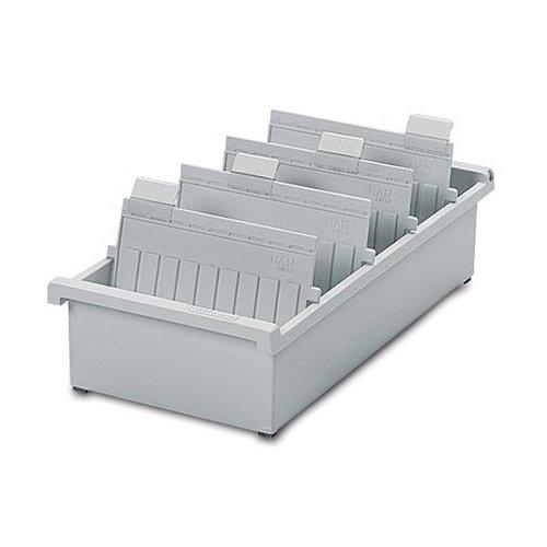 Стеллаж картотечный HAN горизонтальная А5 34.7x22.8 см серый