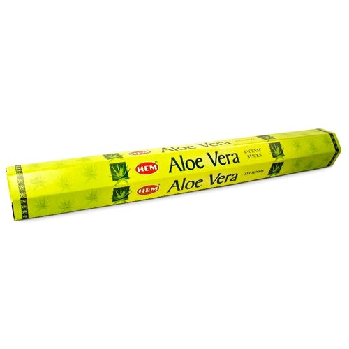 Благовония-палочки HEM Aloe Vera 20 шт.