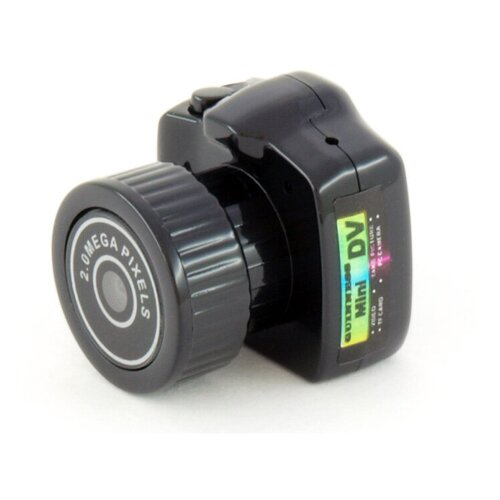 Фото - Мини видеокамера с записью на карту памяти Ambertek RS101 персональный видеорегистратор ambertek dv3000 черный