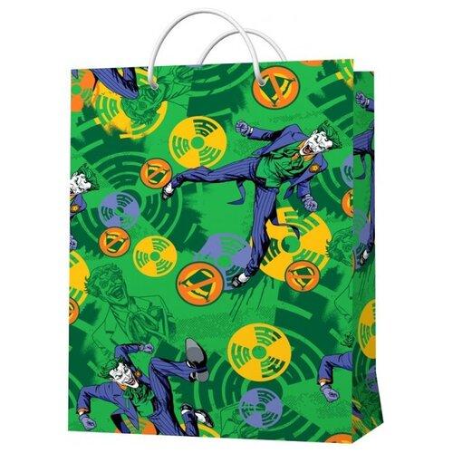 Фото - Пакет подарочный ND Play Dc Comics Joker 25 х 35 зеленый пакет подарочный nd play lol 25 х 35 х 10 см мятный розовый
