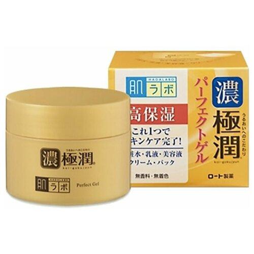 Купить Rohto HADALABO Gokujyun Perfect Gel Гель для лица 3 в 1 для всех типов кожи 100 гр.