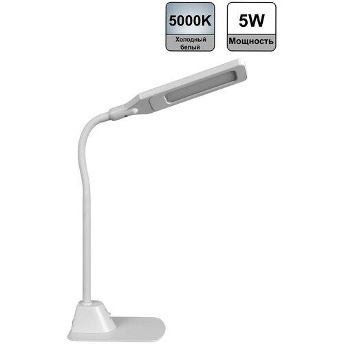 Настольные светильники Navigator Настольные светодиодные светильники 71566 NDF-D007-5W-5K-WH-LED на основании, белый