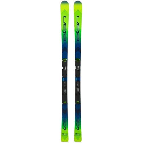 Горные лыжи детские без креплений Elan Ace GSX Team Plate (21/22), 166 см
