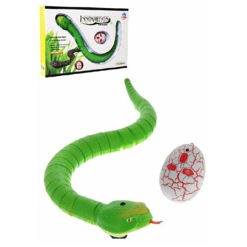 Змея на пульте управления (зеленая), Jiahuifeng, Роботы и трансформеры  - купить со скидкой