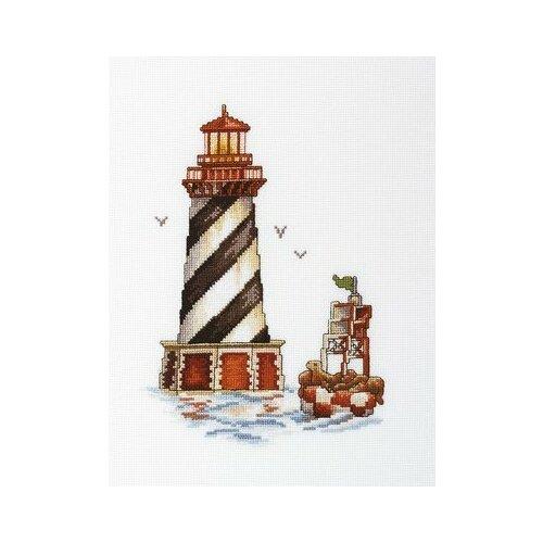 Набор для вышивания РТО арт.M392 Маяк Залив тюленя 17х25 см