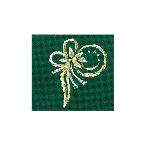 Набор для вышивания сделай своими руками арт.З-34 Золотые украшения.Цветок 12х12 см