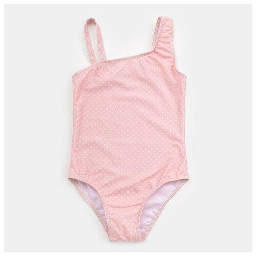 Купить Купальник Minaku размер 116-122, розовый, Белье и купальники