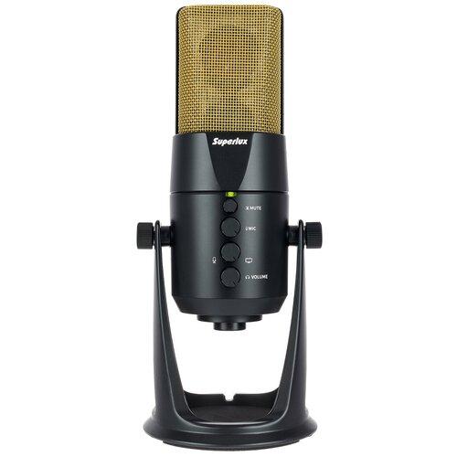 Superlux L401U Студийный конденсаторный USB микрофон
