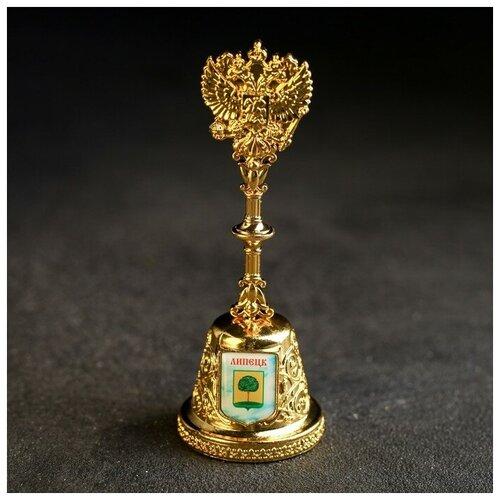 Колокольчик в форме герба «Липецк» (Христорождественский собор), 11,8 х 4,2 см 4174842
