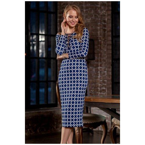 брюки ruxara ruxara mp002xw0f72l Платье RUXARA (7795, синий, размер: 48)