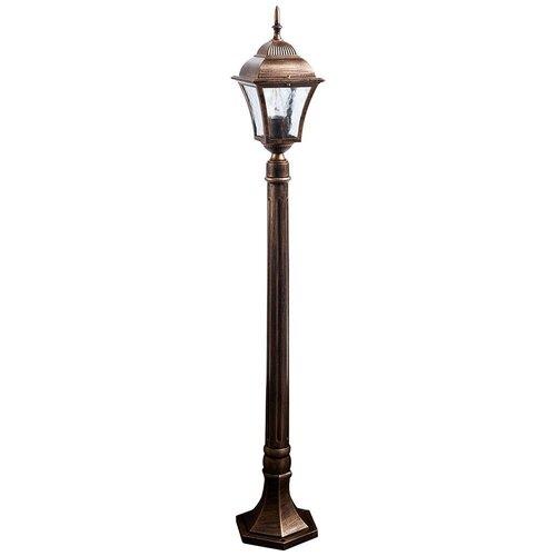Фото - Садово-парковый светильник Feron Таллин PL616 наземный. Черное золото feron уличный наземный светильник dh027 650 11816