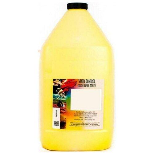 Фото - Тонер Static Control OKIUNIV-1KG-Y желтый флакон 1000гр. для принтера Oki C3300N5500 тонер static control okiuniv2 1kg ma для oki c610 c810 c830 пурпурный 1000гр