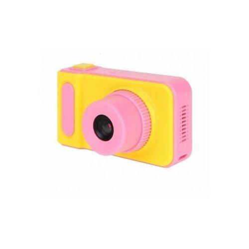 Фото - Детский цифровой фотоаппарат Kids Camera, Розовый детский цифровой фотоаппарат собачка розовый kids camera pink