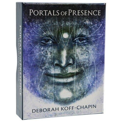 Карты Таро Portals of Presence: Faces Drawn from the Subtle Realms / Порталы Присутствия: Лица, Нарисованные из Тонких Сфер by Deborah Koff-Chapin - U.S. Games Systems