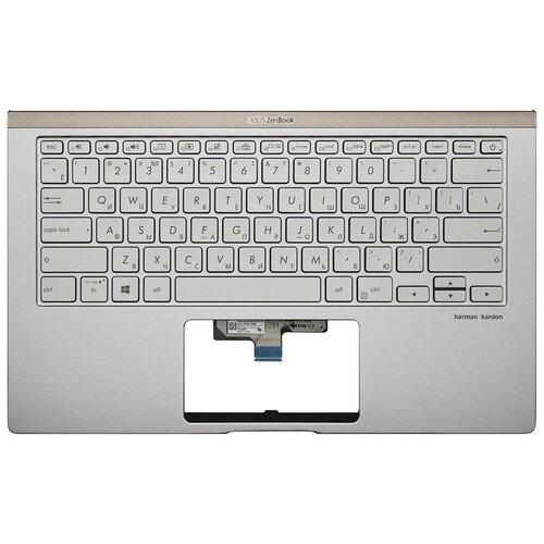 Топ-панель Asus ZenBook UX433FA серебро