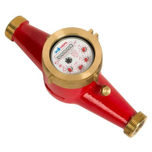 Счетчик воды универсальный ЭКОМЕРА-25 многоструйный