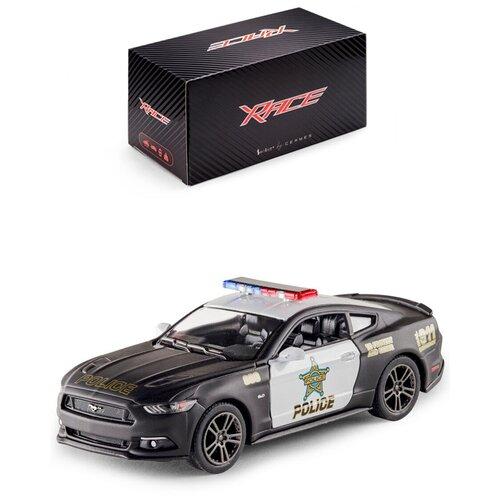 Купить Детская инерционная металлическая машинка Serinity Toys с открывающимися дверями, модель 2015 Ford Mustang GT Полиция, Машинки и техника