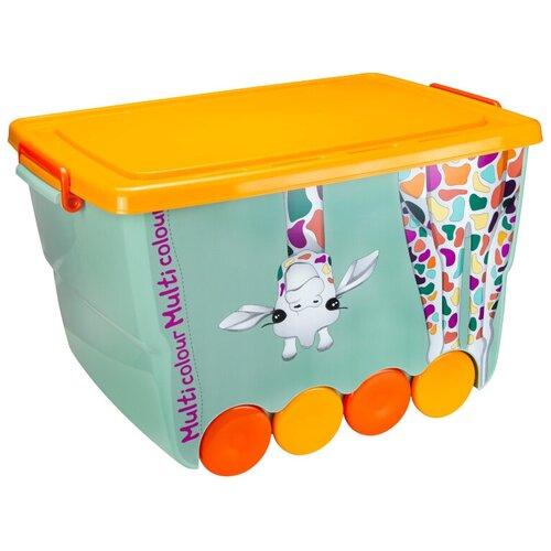 Ящик для игрушек окто 50 л Жираф
